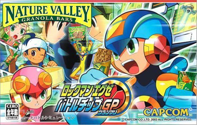Mega Man X Nature Valley Nature Valley Anime Tweets Know Your Meme