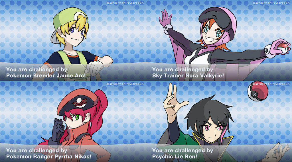 Team JNRP Pokemon Trainers   RWBY   Know Your Meme