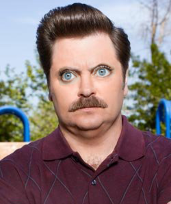 Ron Swanson Guys With Zooeyes Know Your Meme