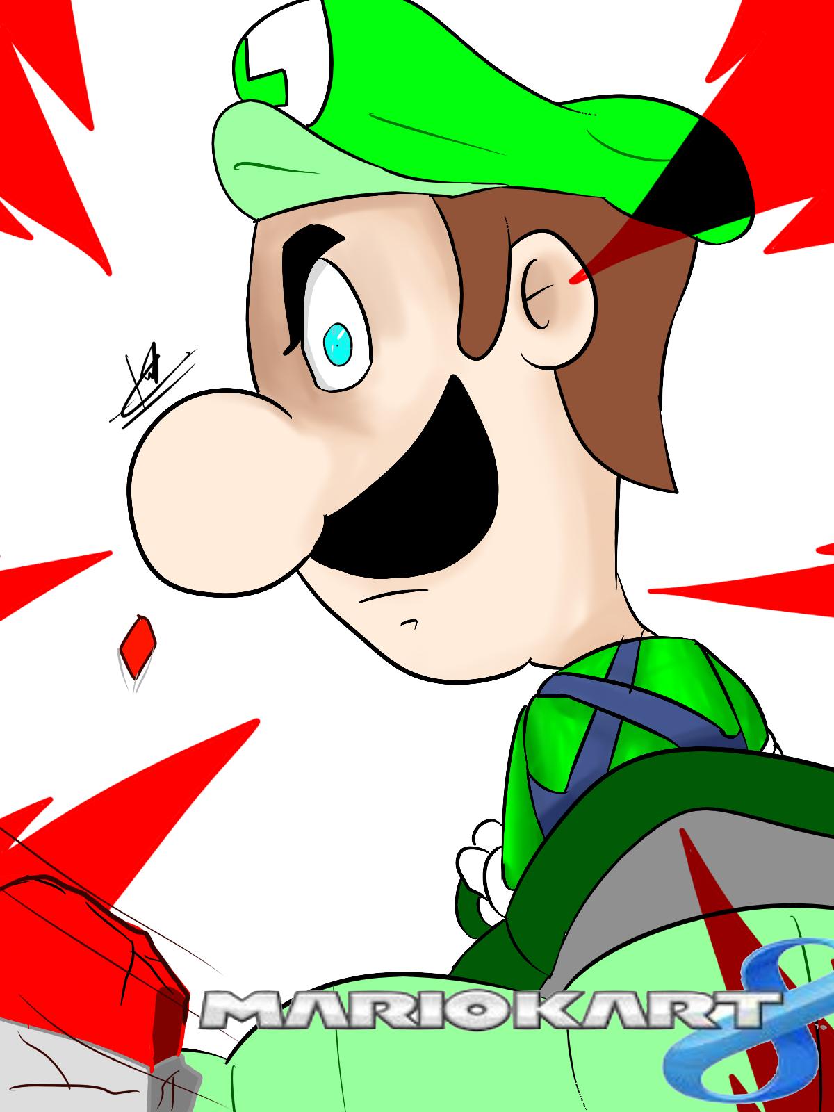 Facking Death Stare Luigi S Death Stare Know Your Meme