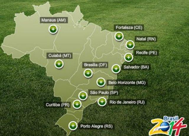Host cities 2014 fifa world cup brazil know your meme gumiabroncs Image collections