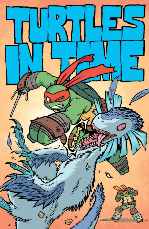 Yes This Is Raphael Punching A Dinosaur In The Face You Can Pick