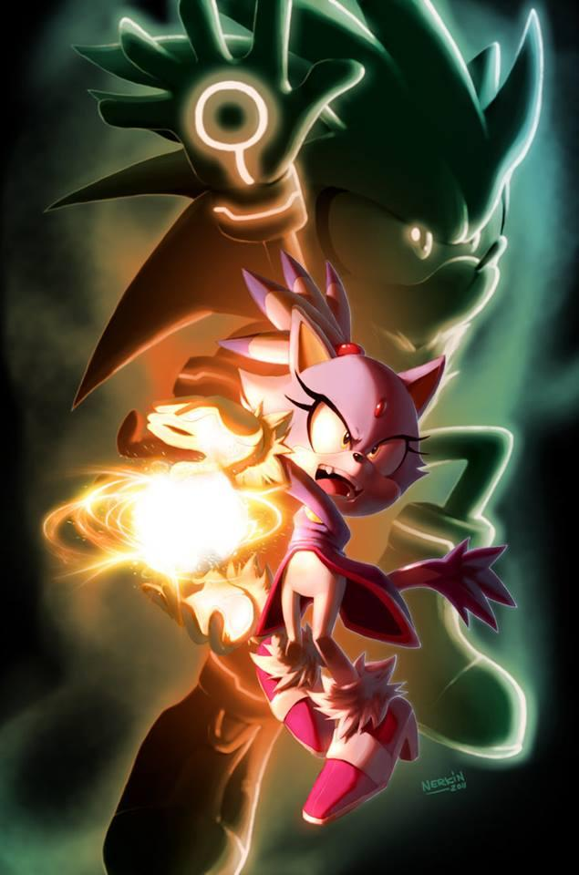 It Looks Like Blaze Is Attempting A Kamehameha And I Love
