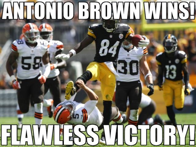 Antonio Brown Memes >> Wrong Sport Antonio Antonio Brown S Karate Kick Know