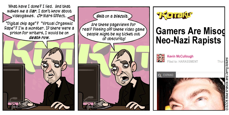 Penny Arcade Updated for Accuracy   GamerGate   Know Your Meme