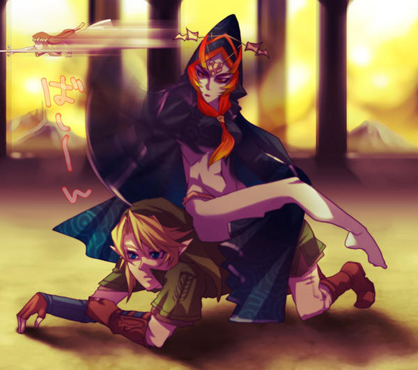 Midna Sitting On Link The Legend Of Zelda Know Your Meme
