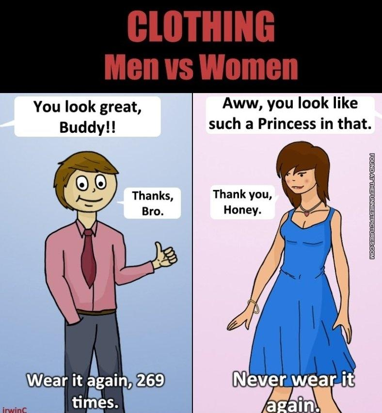 Here S One Difference Between Men And Women Men Logic Know Your Meme