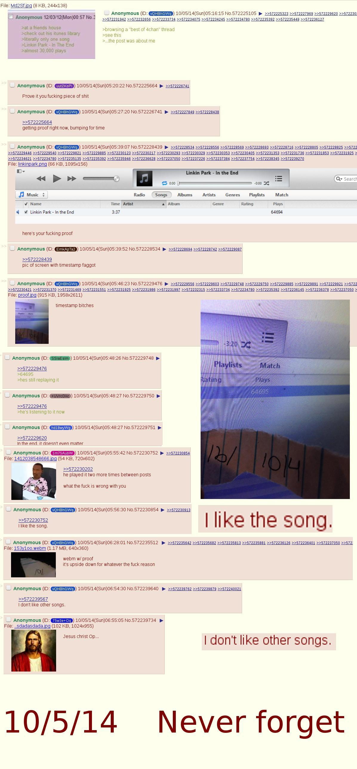 Linkin Park Man Returns | 4chan | Know Your Meme