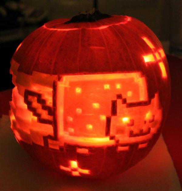 Nyan Cat Pumpkin Pumpkin Carving Art Know Your Meme