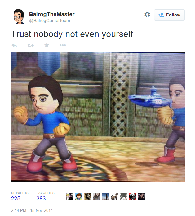 I Cant Trust Mii Super Smash Brothers Know Your Meme