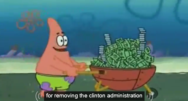 for removing the clinton administration youtube automatic caption