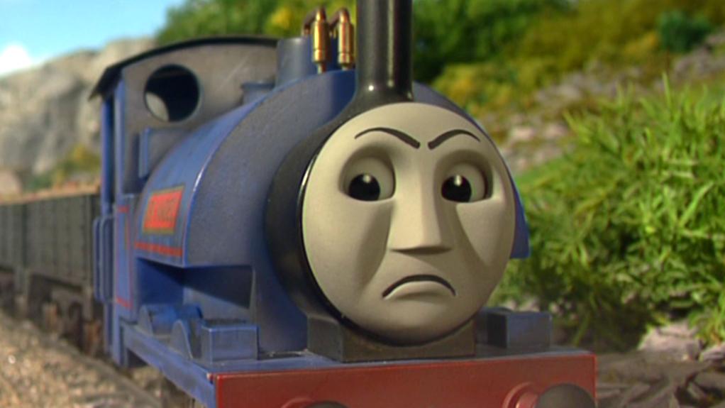 Sir Handel Grumpy Face Thomas The Tank Engine Know