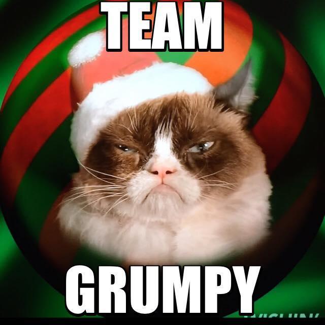 Christmas Memes Cats.Team Grumpy Cat Christmas Edition Grumpy Cat Know Your Meme