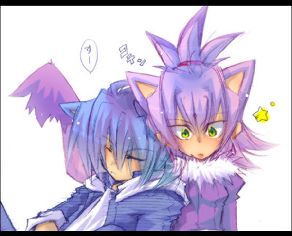 Human Sonic And Blaze Sonic The Hedgehog Know Your Meme