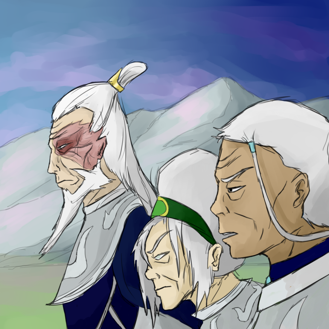 Zaofu The Order Of The White Lotus Is Here Avatar The Last Airbender The Legend Of Korra Know Your Meme