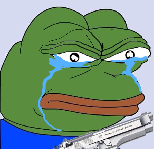 crying angry pepe know your meme