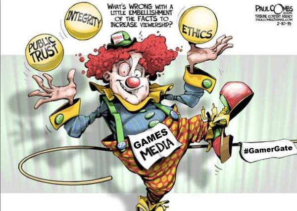 clown cartoon gamergate know your meme