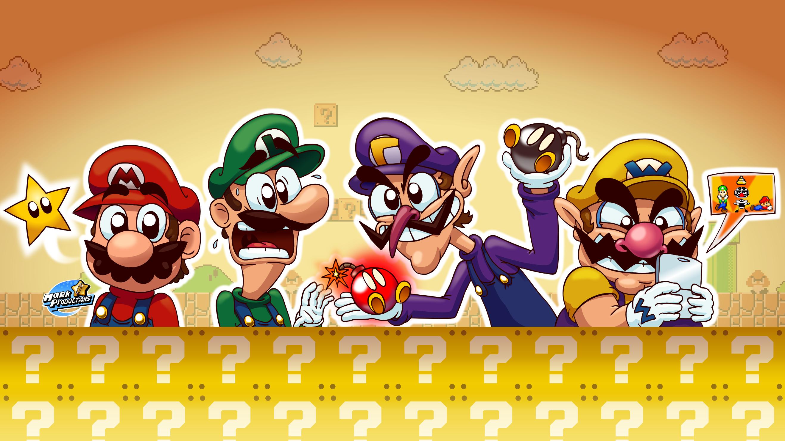 коллекцию вошли персонажи игры марио брос первопроходцы фотосъемки применяли