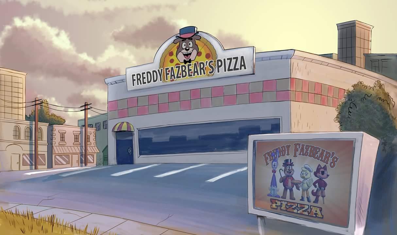 картинки фредди фазбер пицца в реальности