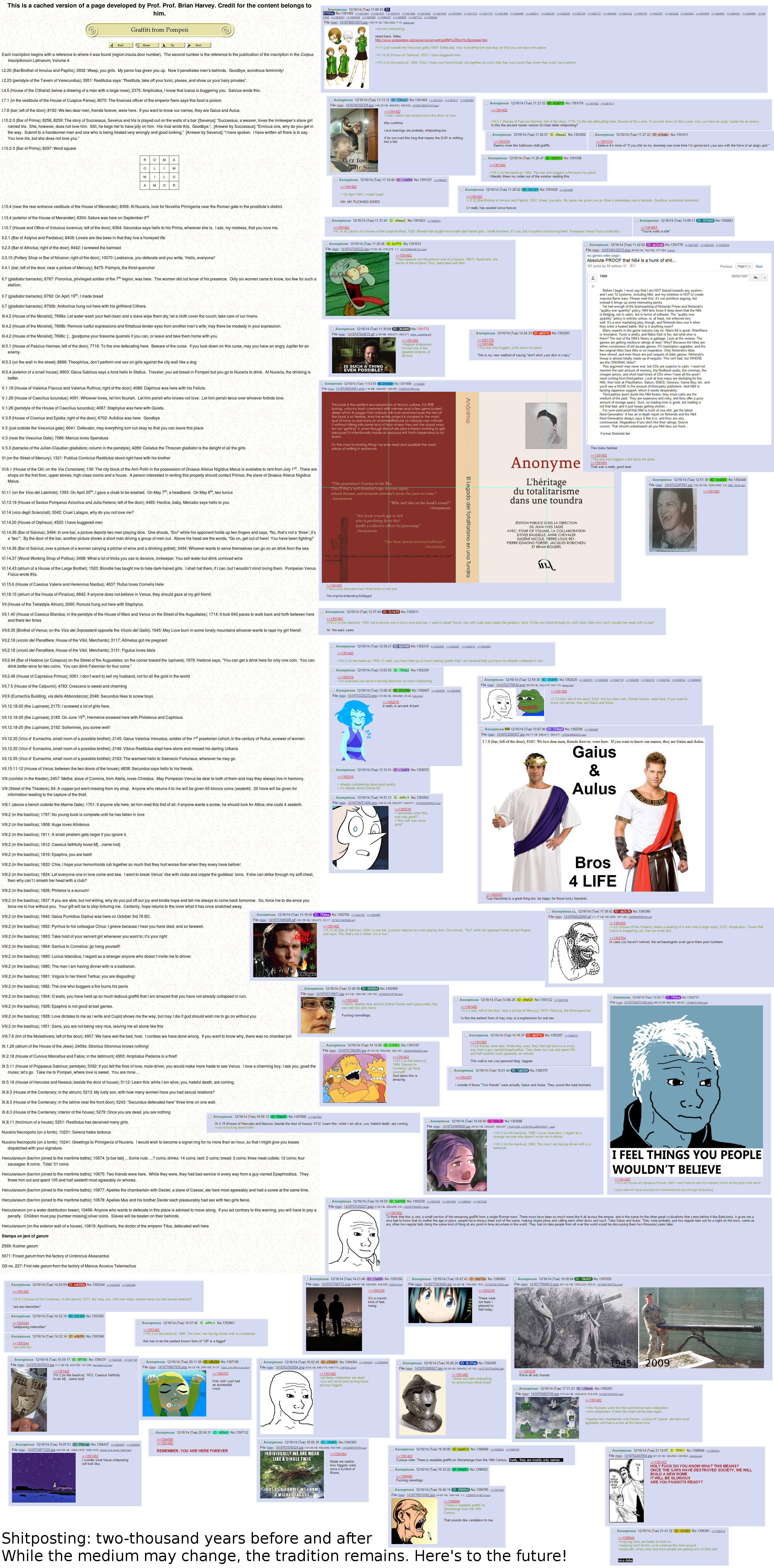 Shitposting then and now 4chan know your meme
