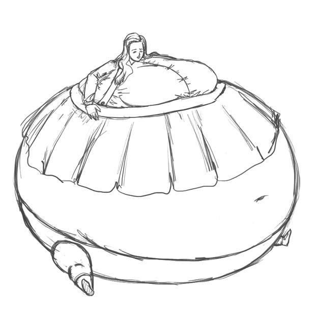 Body Inflation Clock Tower By Shydude