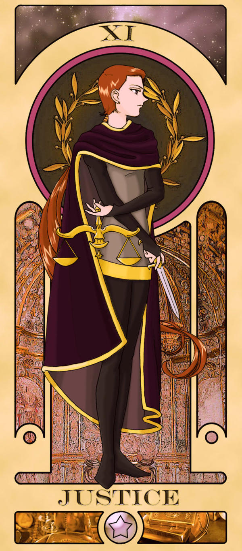 Sailor Moon Tarot: Justice by Sillabub429 | Tarot Arcana