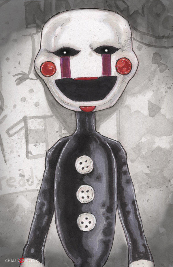 Five Nights At Freddys Marionette Puppet Five Nights At Freddys