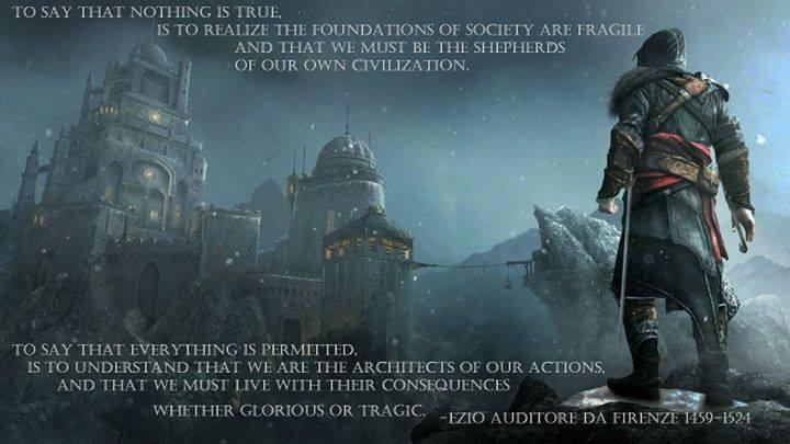 Assassin S Creed 2 Nothing Is True Everything Is Permitted