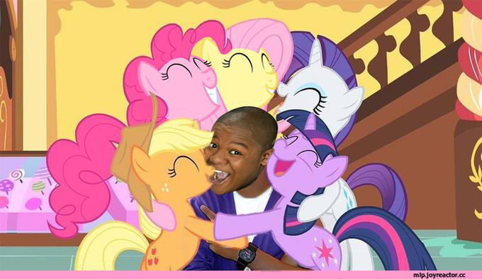 101 cory gets all the ponies my little pony friendship is magic