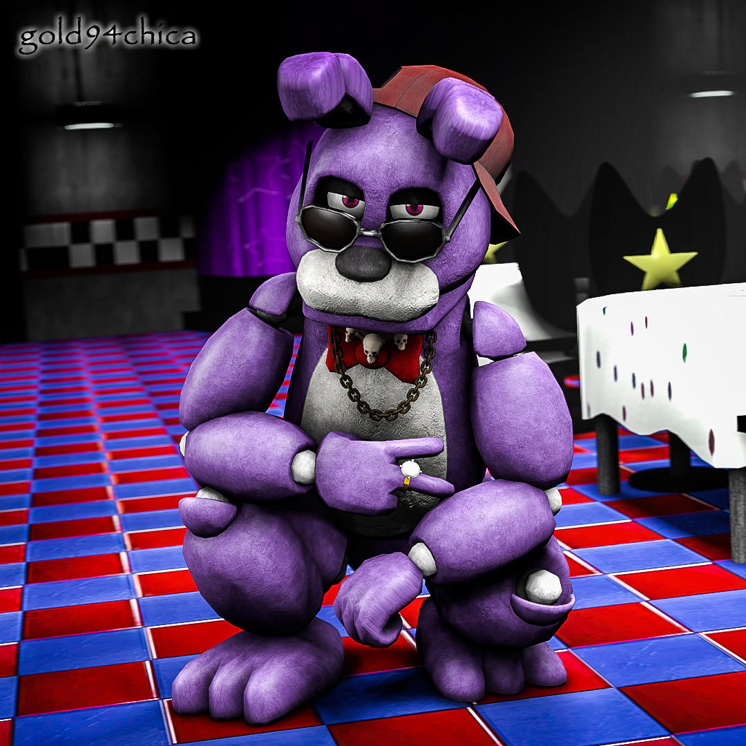 Gangsta Me Roblox Gangster Bonnie Five Nights At Freddy S Know Your Meme