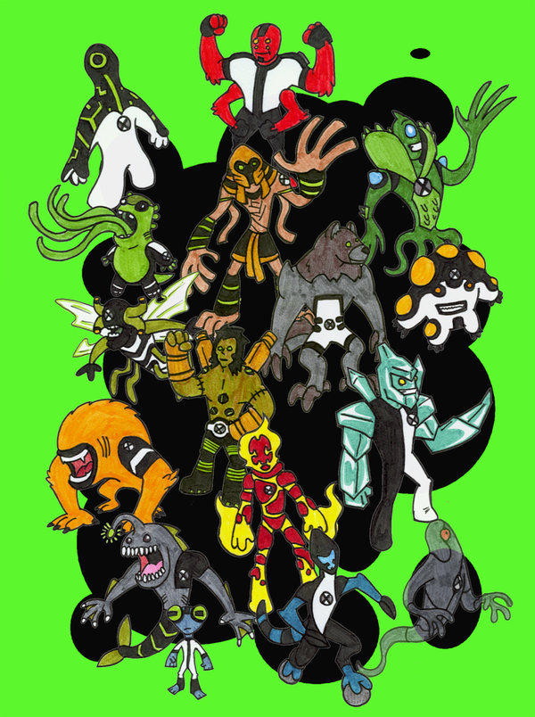Ben 10 aliens by kjmarch ben 10 know your meme ben 10 alien force vilgax attacks ben tennyson fictional character cartoon product voltagebd Gallery