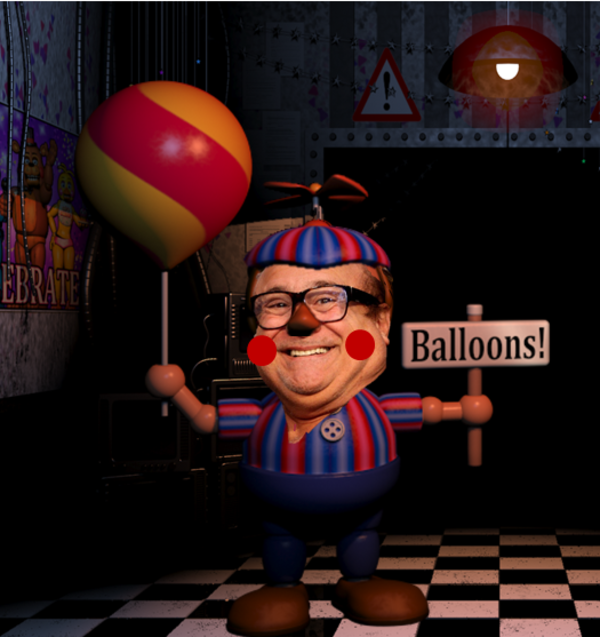 Danny Devito is playing BB   Five Nights at Freddy's   Know