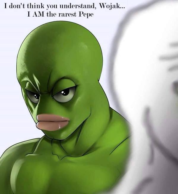 Rarest Pepe Pepe The Frog Know Your Meme