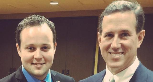 Rick Santorum Josh Duggar Molestation Controversy Know Your Meme