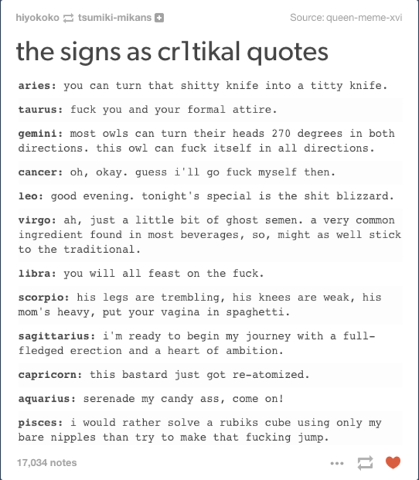 Cr1tikal The Signs As Know Your Meme