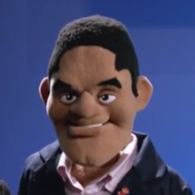 Puppet Reggie likes what he sees. | Electronic Entertainment Expo ...