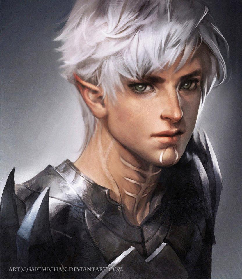 Fenris Dragon Age Ii By Sakimichan Sakimichan Know Your Meme