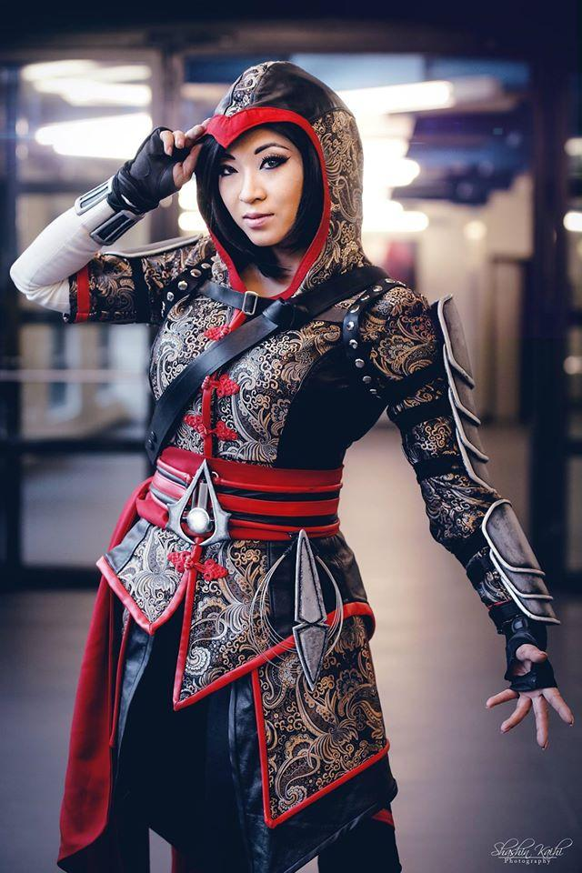 30 Foto Cosplay Assassin S Creed Female Version Paling