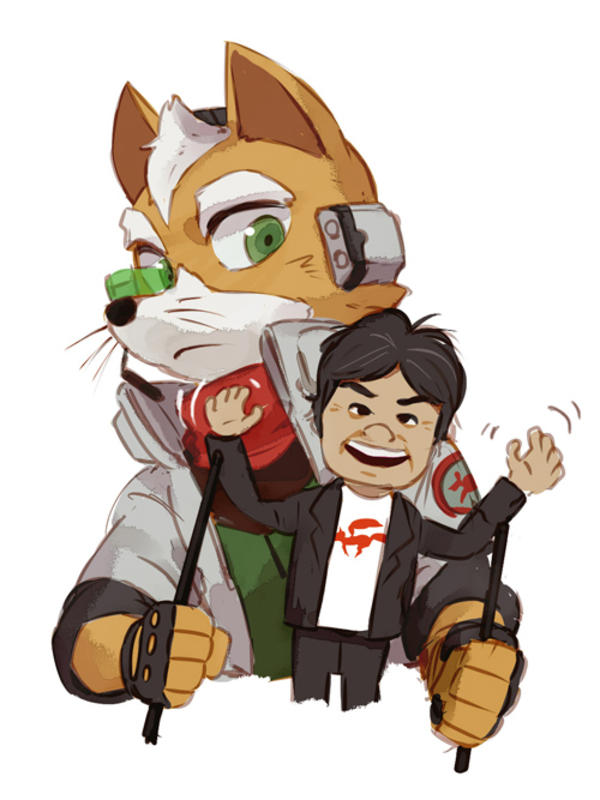 Did You Know Fox Was Based On The Man Himself Star Fox