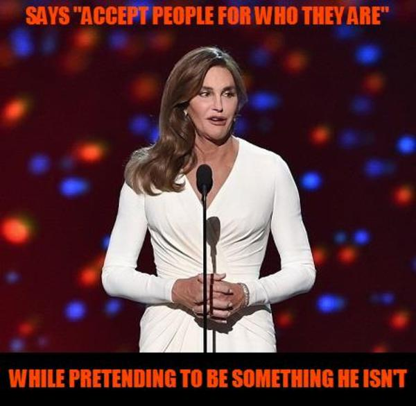Caitlyn Speech 2 Caitlyn Jenners Gender Transition Know Your Meme