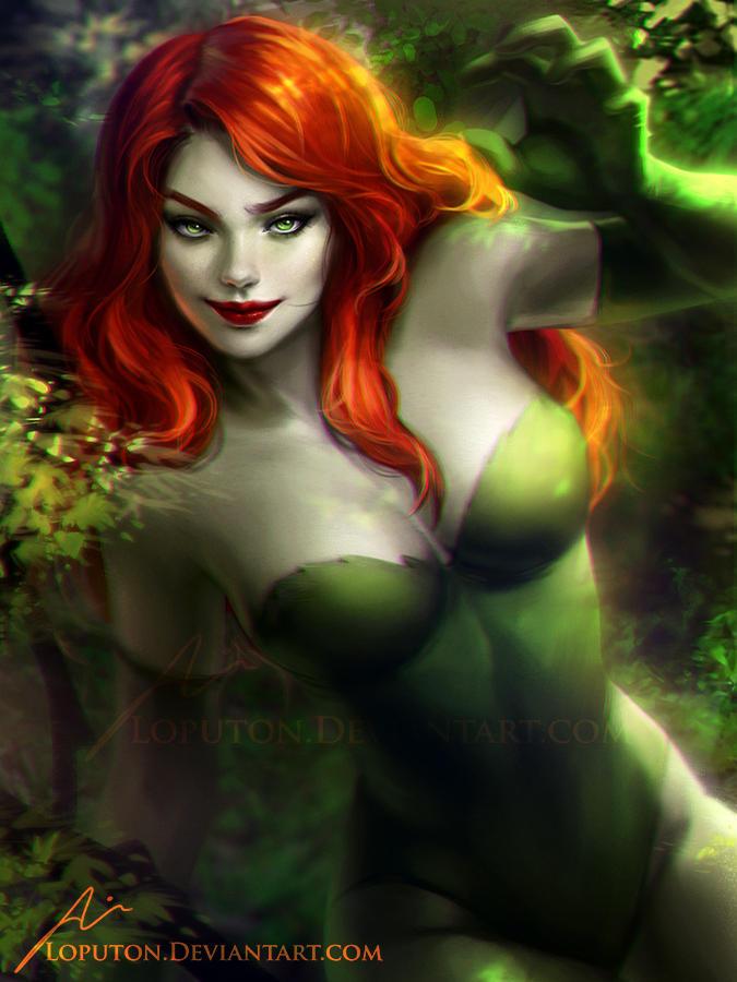 poison ivy batman know your meme