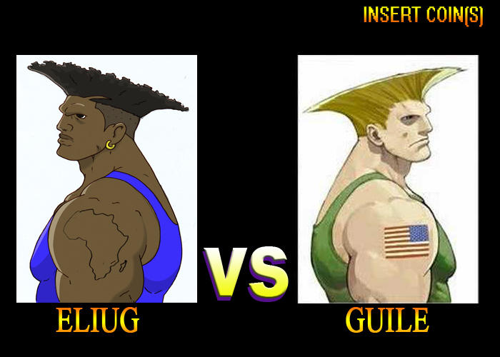Eliug Vs Guile Original Character Do Not Steal Know Your Meme