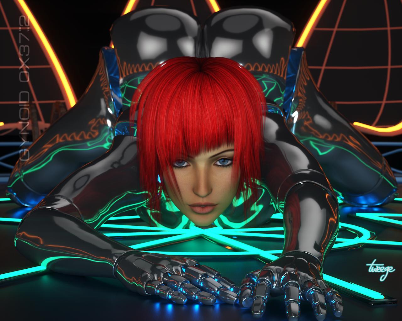 Lyonne sexy cyber girls