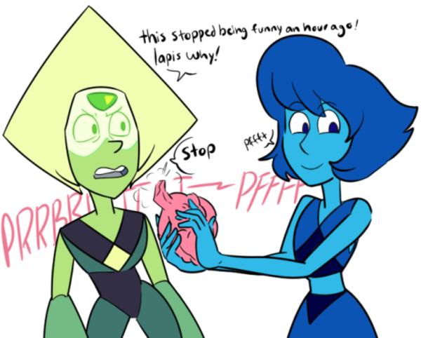 Lapis Pesters Peridot Steven Universe Know Your Meme