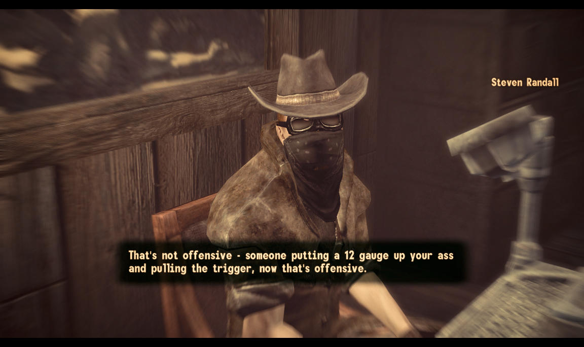 That's not offensive   Fallout   Know Your Meme