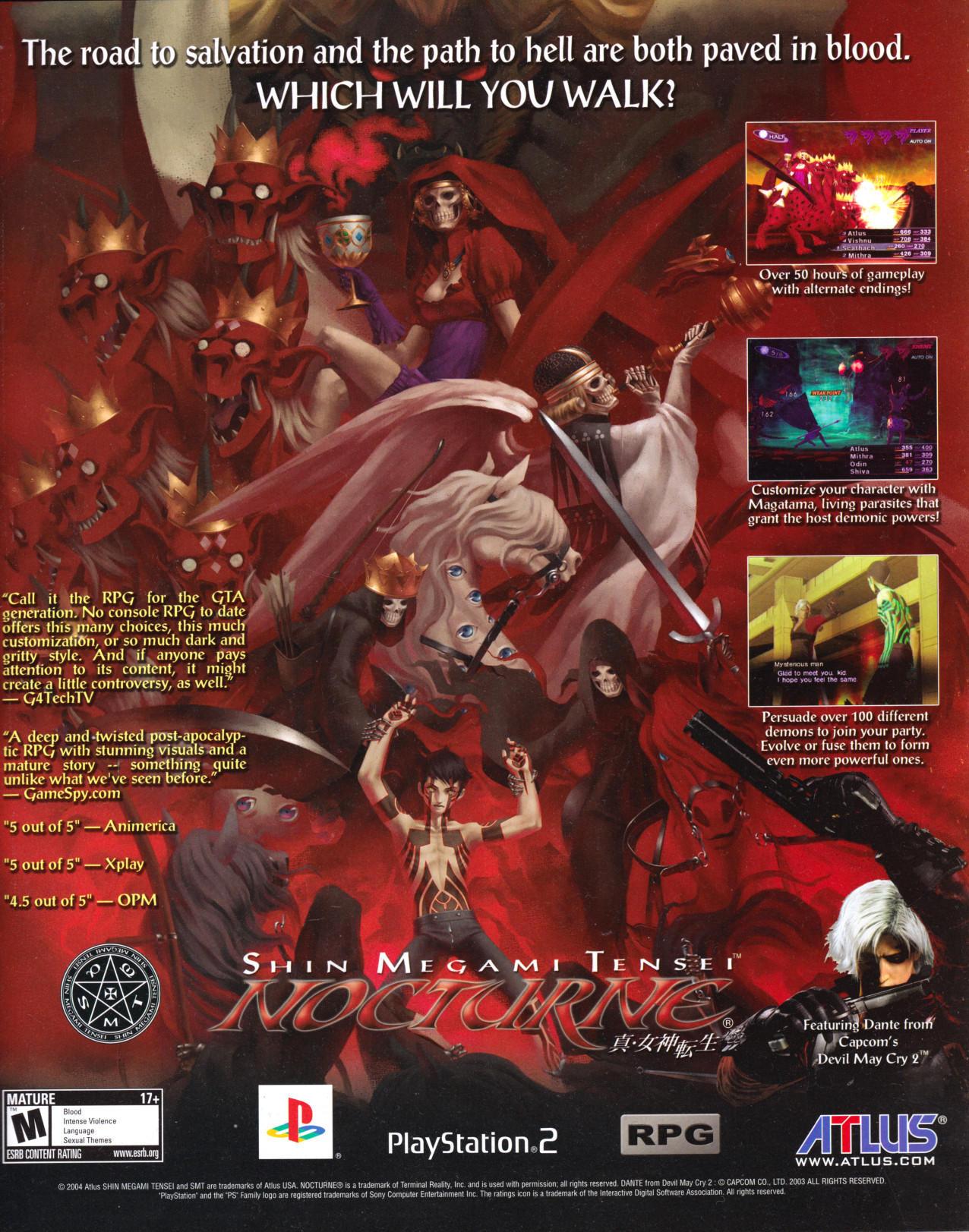 Dante Cover Nocturne