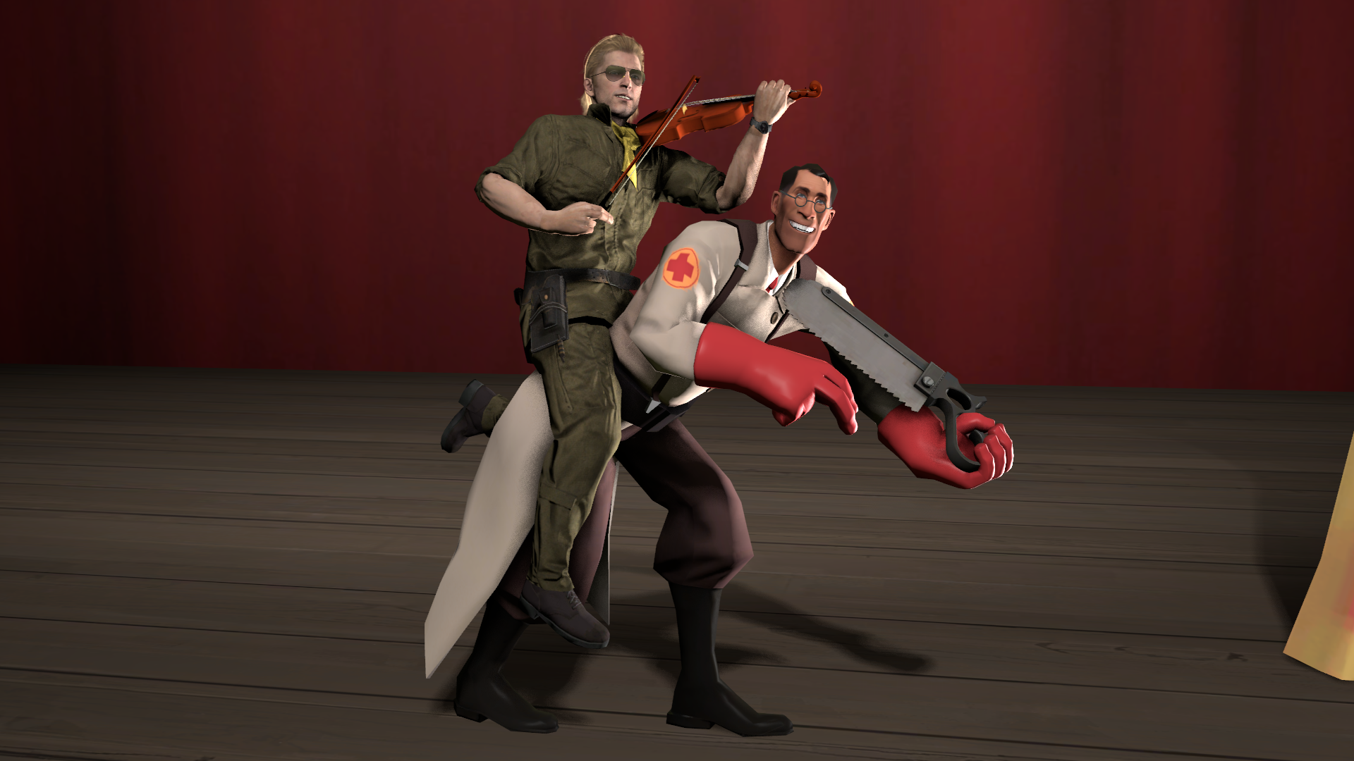 Kazuhira Miller And The Medic They Played Us Like A Damn Fiddle Know Your Meme 1,725 likes · 20 talking about this. kazuhira miller and the medic they