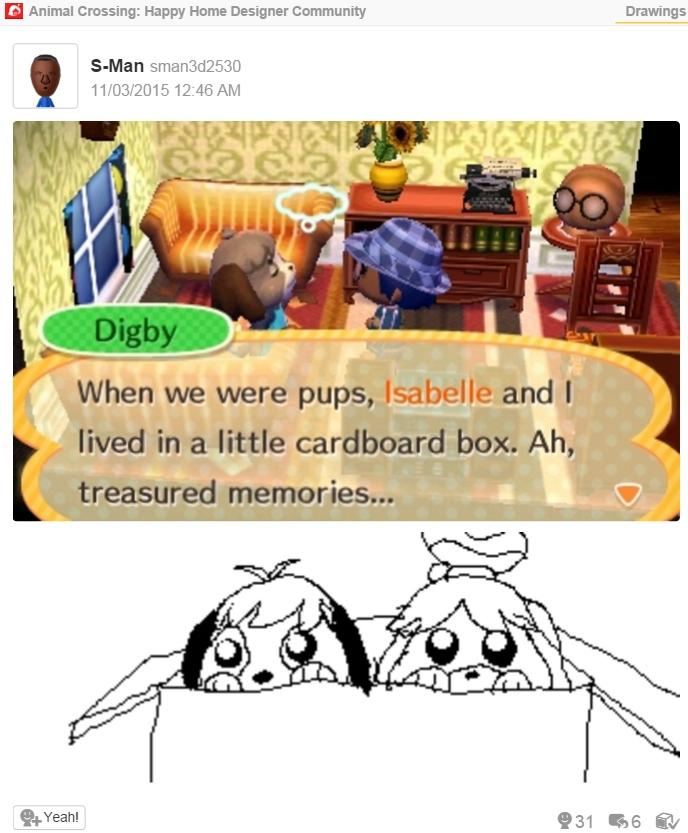 Isabelle and Digby's Backstory   Animal Crossing   Know Your Meme