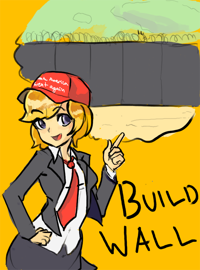 BUILD WALL! | Donald Trump\'s Wall | Know Your Meme