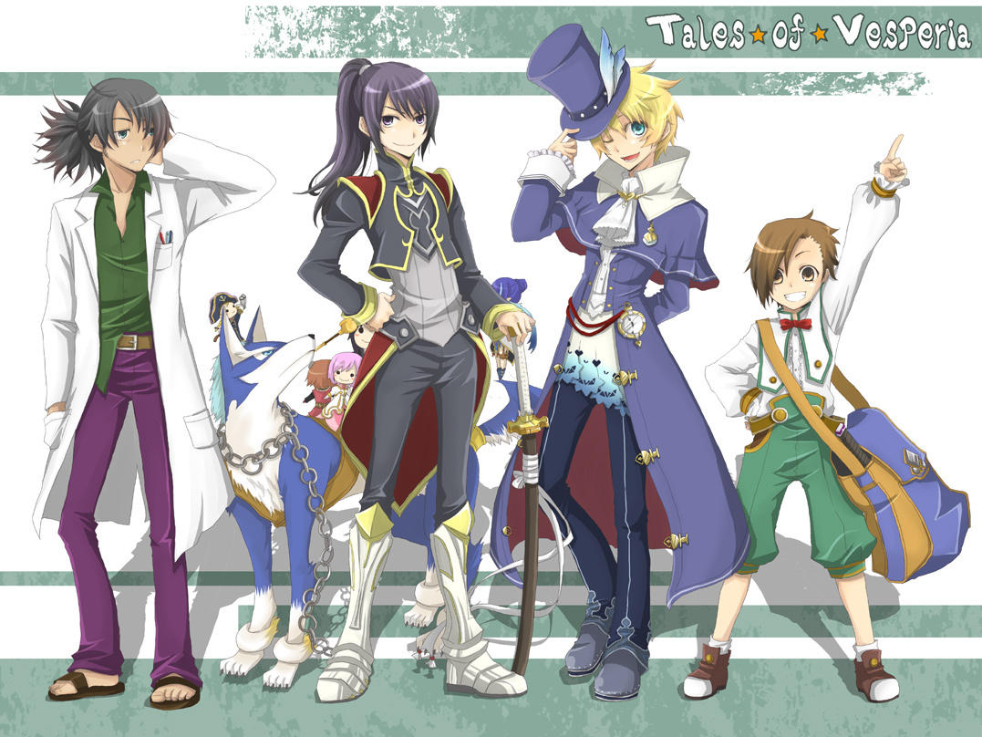 Alternate Costume Boys Tales Series Know Your Meme